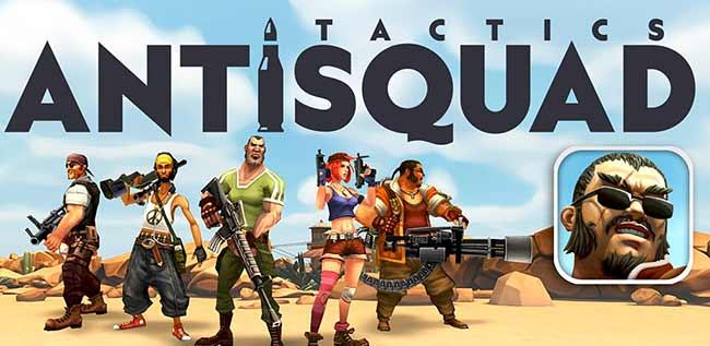 AntiSquad Tactics Premium Game Android Free Download